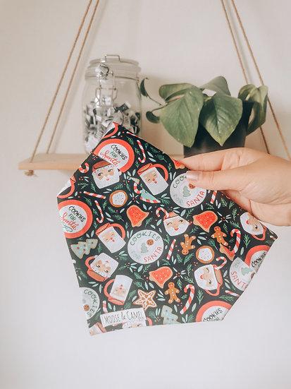 'Santa's Cookies' bandana