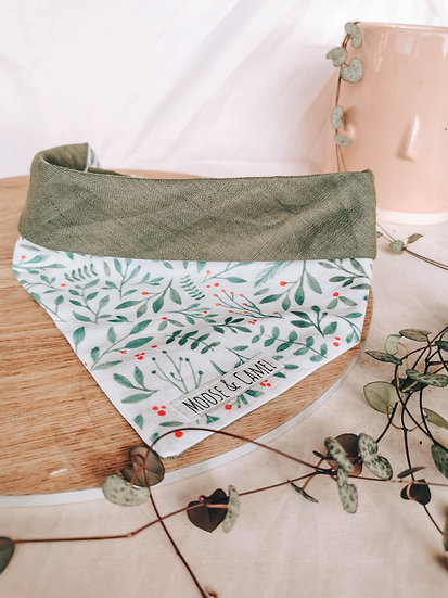 Foliage and Berries Bandana