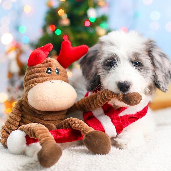 Holiday Crinkle - Reindeer Small