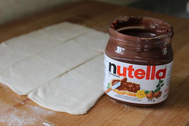 Nutella Mini Wedges