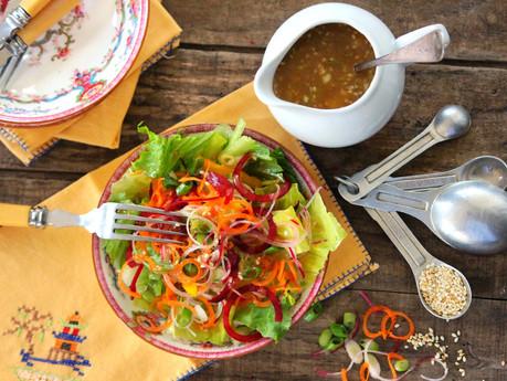 Toasted Sesame Asian Salad Dressing