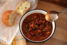 Quick & Easy 6 Bean Chili