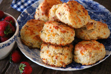Bacon & Cheddar Buttermilk Biscuits
