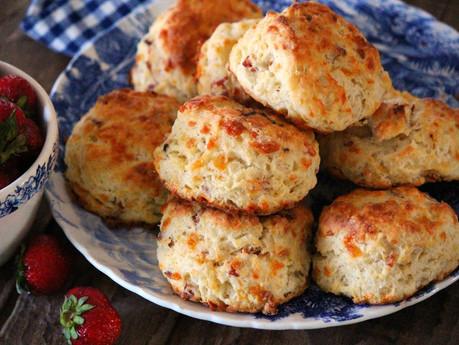 Bacon & Cheddar Buttermilk Biscuits