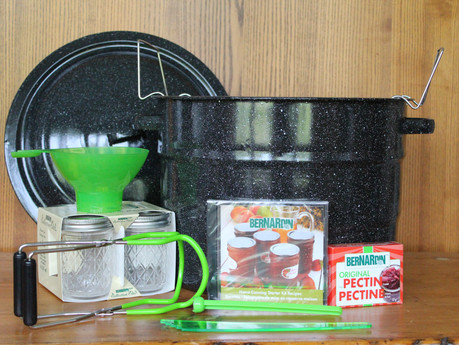 Winner of the Home Canning Starter Kit!