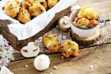 Canadian Mushroom & Oka Cheese Puffs