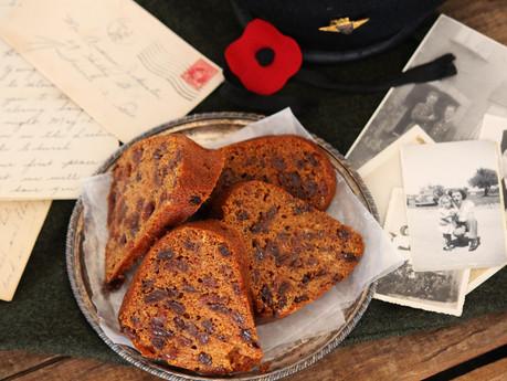 Wartime Boiled Raisin Cake