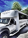 Charleston wedding white limo bus