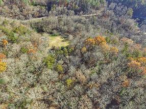 Blue Ridge Treehouse Overhead View
