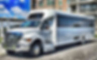 Shuttle bus service for wedding in charleston