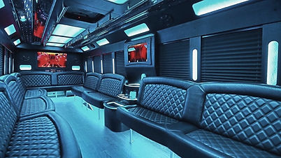 charleston party limo bus