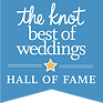 The Knot Hall of Fame Weddings Charleston Logo
