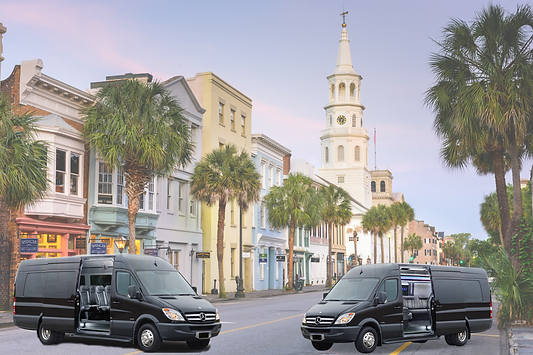 Sprinter shuttle options available in charleston