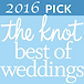 2016 Knot Best of Weddings Charleston Logo