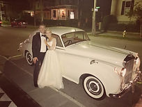 Vintage Charleston SC Wedding Car