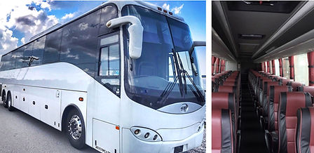 Motorcoach transportation in Charleston
