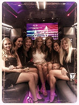 Charleston Bachelorette Party in Limo Bus