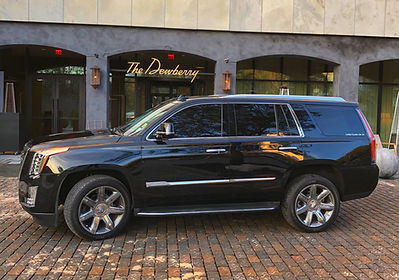 Cadillac Escalade The Dewberry Hotel