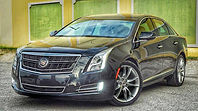 Cadillac XTS wedding car in Charleston