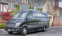 Mercedes Sprinter Van in Charleston SC wedding