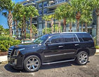 Cadillac Escalade for wedding transportation