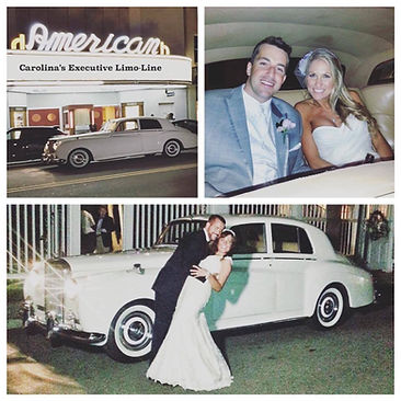 Charleston vintage Bentley wedding getaway car