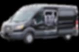 Ford Transit Shuttle Van in Charleston SC