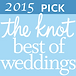 2015 Knot Best of Weddings Charleston Logo