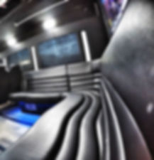 Charleston Party Bus Interior - Limo Coach