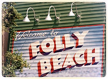 Folly Beach Bachelor Party - Welcome to Folly Sign