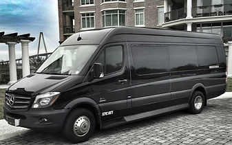 Luxury Sprinter shuttle service in Charleston SC