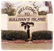 Bachelor Party - Welcome to Sullivan's Island Sign