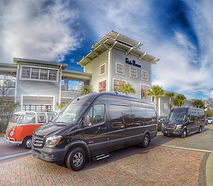 Mercedes Sprinter Service in Charleston for Lowcountry Wedding