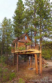 Nelson Treehouse Design Georgia Mountains