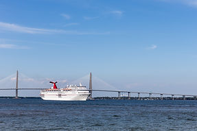 Carnival Cruise Ship in Charleston SC