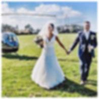 Charleston SC wedding helicopter