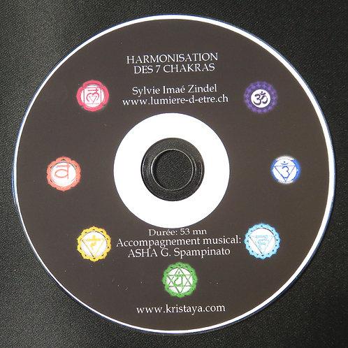Harmonisation des 7 chakras