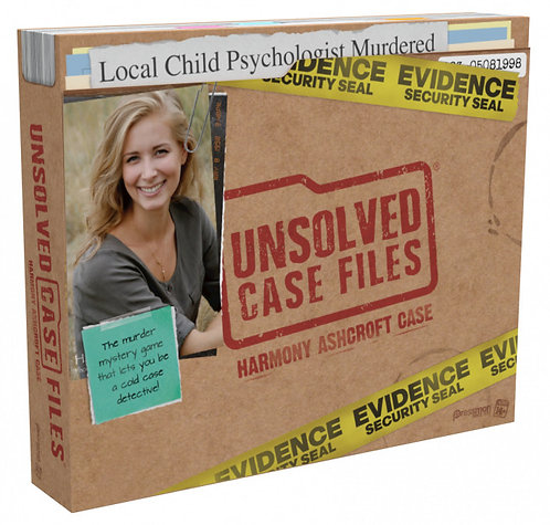 Unsolved Case Files: Harmony Ashcroft (13+ Years)