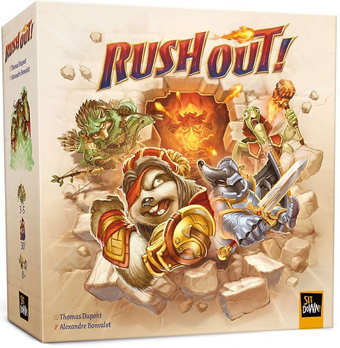 PREORDER - Rush Out