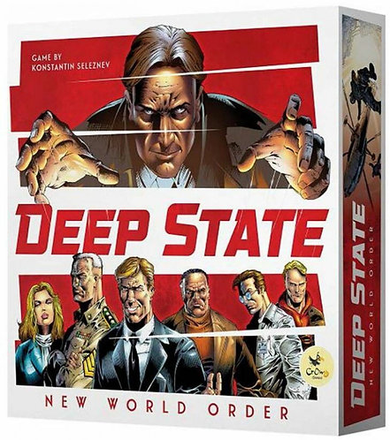 PREORDER - Deep State New World Order