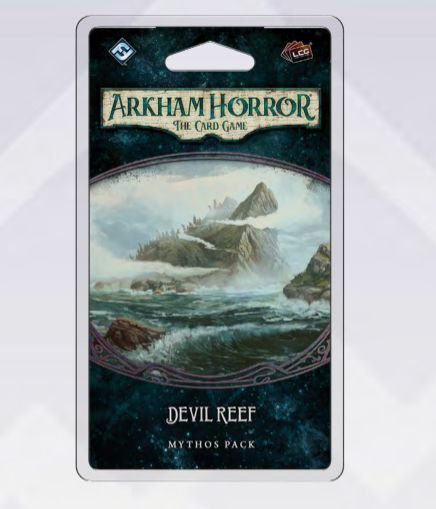 PREORDER - Arkham Horror LCG The Innsmouth Conspiracy Cycle Devil Reef