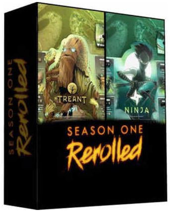 PREORDER - Dice Throne Season 1 Re Rolled - Box 4 Treant v Ninja