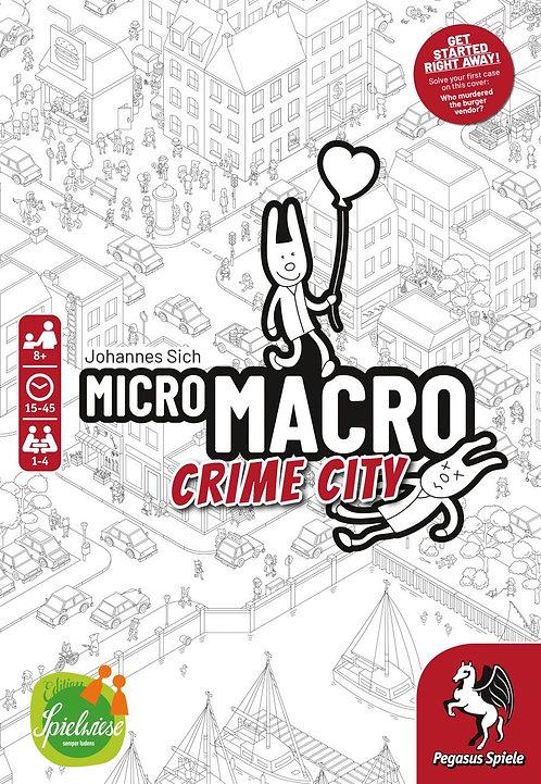PREORDER - MicroMacro Crime City