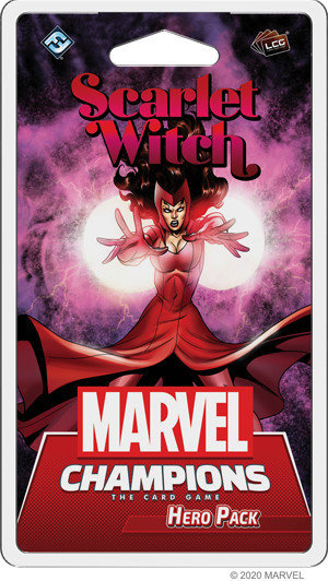 PREORDER - Marvel Champions LCG - Scarlet Witch Hero Pack