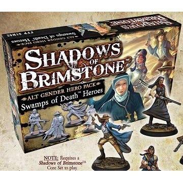 PREORDER - Shadows of Brimstone: Swamps of Death Alt Gender Hero Pack