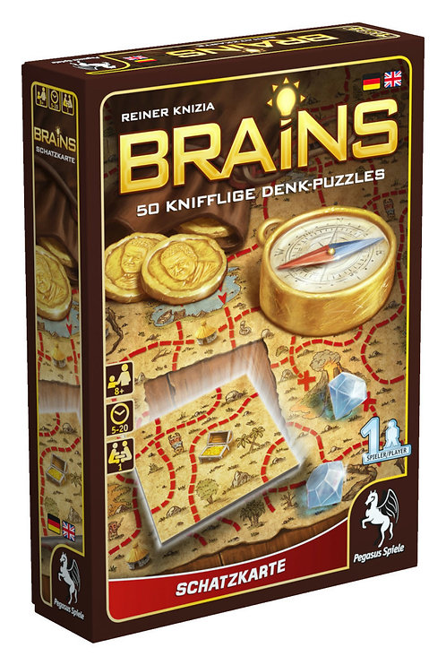 Brains Treasure Map