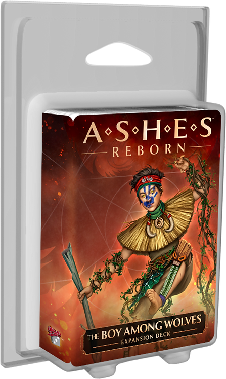 PREORDER - Ashes Reborn The Boy Among Wolves Expansion Deck