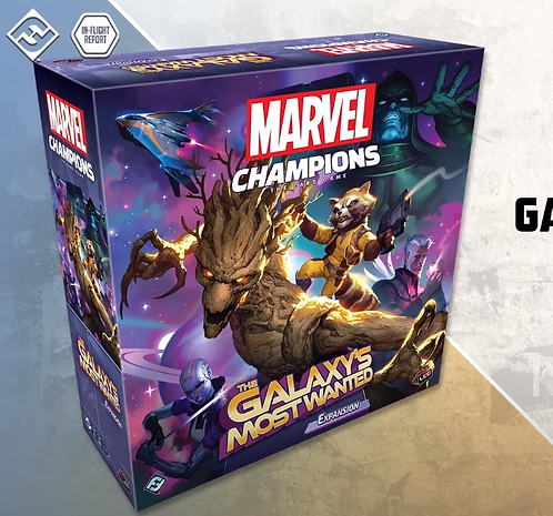 PREORDER - Marvel Champions LCG The Galaxys Most Wanted Expansion