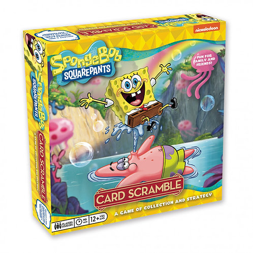 PREORDER - Card Scramble Spongebob Squarepants