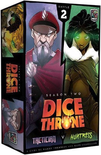 Dice Throne Season 2 Battle Box 2 Tactician vs Huntress
